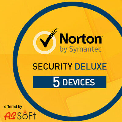 Norton Security Deluxe 2019 5 PC 5 Appareils 1 An   2018 FR