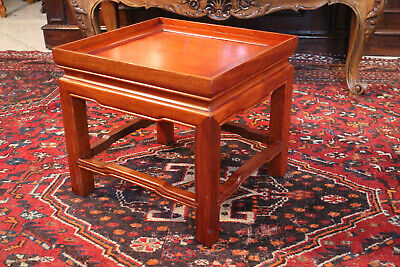 Pod Carrier Plant Stand Mahogany Far East China