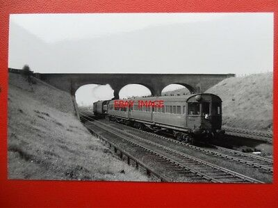 Photo  Gwr 54Xx/64Xx Loco Propelling Auto Train Passing Saltney Junct C1950'S