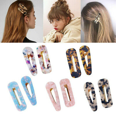 10PCS Women Vintage Leopard Hair Clip Hairband Comb Bobby Pin Barrette Hairpin
