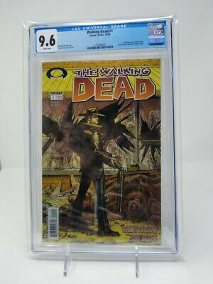 The Walking Dead #1 CGC 9.6 NM+ (Oct 2003, Image) White Pages AMC KEY! Amazing!