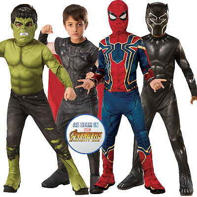 Rubies Kids Official Avengers Infinity War Superhero Endgame Fancy Dress Costume