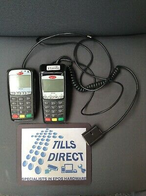 Used INGENICO iCT220 card terminal with iPP320 pin pad.(SKU 71)