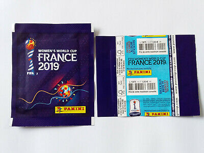 Pochette World Cup Women France 2019 Packet Tuten Bustine Tuto French Version