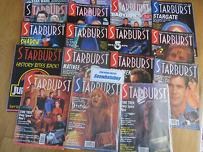 Vintage Starburst Sci Fi Magazine Job Lot of 15 Issues  - Star Wars/Trek/Alien/