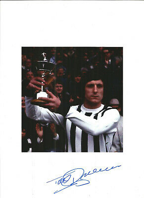 Football Autograph Tony Brown West Bromwich Albion Signed Picture F558