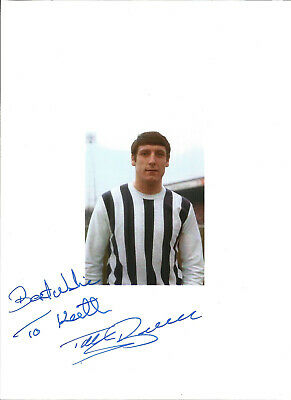 Football Autograph Tony Brown West Bromwich Albion Signed Picture F561