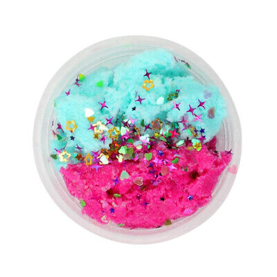 Crafts Cotton mud Kids' toy Colorful Fluffy Floam Cloud DIY Gift Handmade Floss