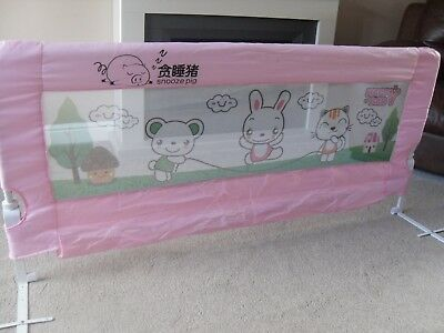 Single Bed Snooze Pig Happy Baby - Baby Safety Protection Guard - Excellent.