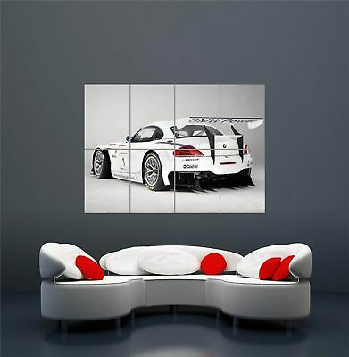 BMW M Roadster Car Red Sports Giant Wall Mural Art Poster Print 47x33 Inches