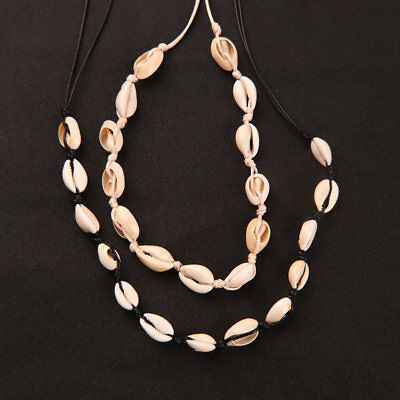 Women Lady Cowrie Shell Collar Choker Necklace Beach Jewelry Hodiday Gifts