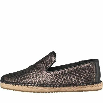 f3f6e4b606c0 UGG Womens Sandrinne Metallic Baskets Espadrilles, Black, UK 5.5 / EU 38,  BNIB