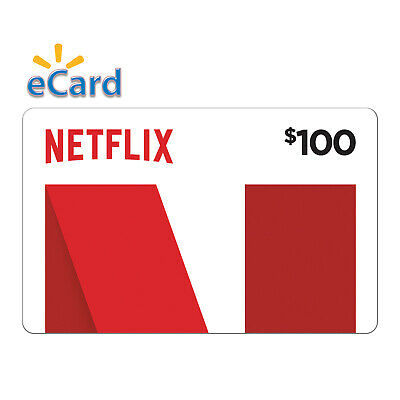 Netflix Gift Card - $100- Email delivery US ONLY