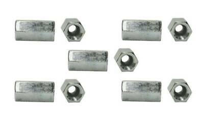 Fastenal 1137824 1/2-13 x L1-3/4 x W11/16 Steel Zinc Plated Coupling Nut (5)
