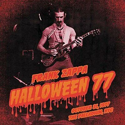 Zappa Frank Halloween Night 77 Triplo Cd Nuovo Sigillato