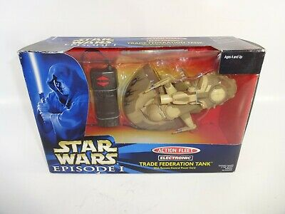 Star Wars 1999 Micro Machines Action Fleet Electronic Trade Federation Tank NIB