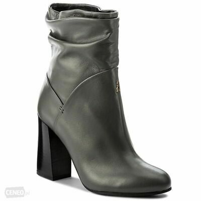 super popular f5251 d6ef0 SCARPE DONNA STIVALETTO Stivali Boot Patrizia Pepe Dark Grey N 38 Retail €  388