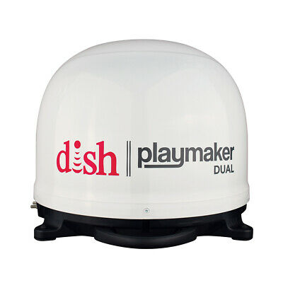 Winegard DISH Playmaker Dual Gen2 Portable Satellite TV Antenna - W... [PL-8000]