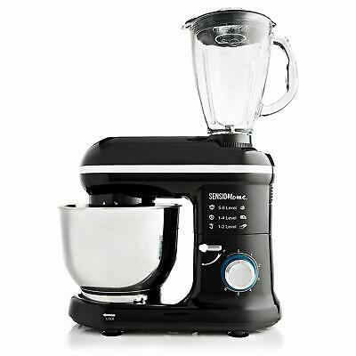 Sensio Home 2-in-1 Food Processor Blender  Stand Mixer Machine - 1000W Electric