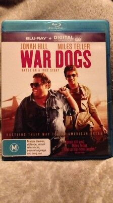 War Dogs (Blu-ray) New & Unsealed - Region free cheapest on ebay