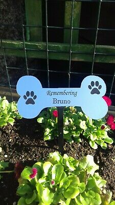 Engraved Memorial Stake Grave/Tree Marker Cremation with Personalised Plaque