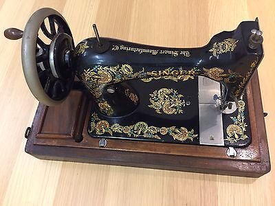 Singer Sewing Machine Ex Showroom Prop From London With Case G Serial Number