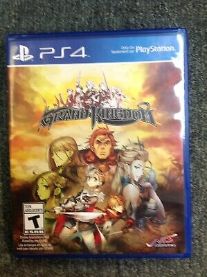 Grand Kingdom PS4 Excellent Condition