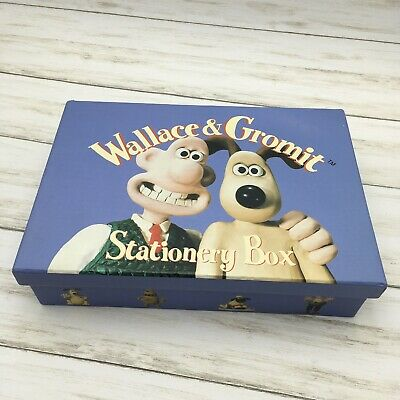 1997 Wallace & Gromit Stationery Box Set Writing Paper Notecards Envelopes