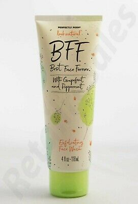 Perfectly Posh BFF Best Face Forever Exfoliating Face Wash, 4 fl oz (118 mL)