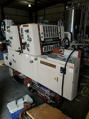 Shinohara 52IIP  2 color printing press + Numbering Unit    PRICE REDUCED !!!!