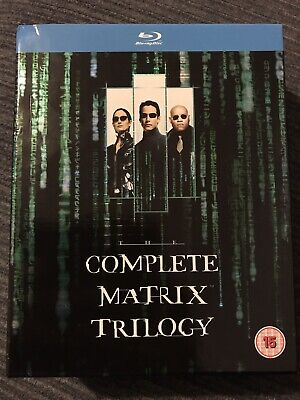 The Complete Matrix Trilogy boxset on blu ray UK