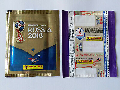 POCHETTE PANINI WORLD CUP 2018 RUSSIA PACKET BUSTINA VERTICAL GERMAN VERSION