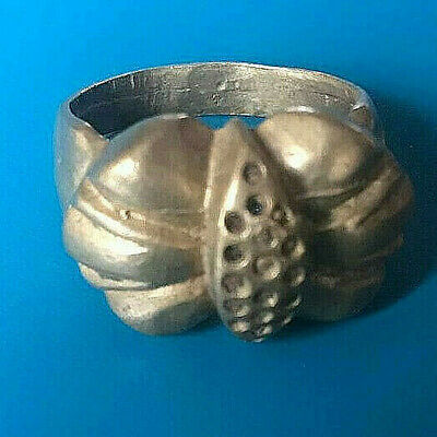 LOW OUT BID!! EXTREMELY Ancient Vintage BRONZE Ring museum quality ARTIFACT