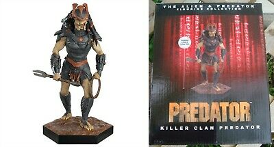 Eaglemoss 1/16 Alien & Killer Clan Predator AvP Three World War Issue 38