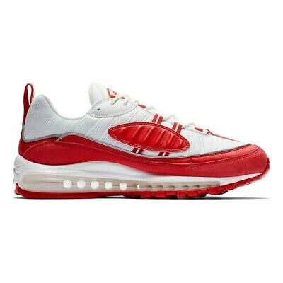 half off d658c b9840 Nike Air Max 98 University Red 640744-602 Scarpa Uomo Ginnastica