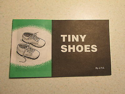Tiny Shoes - Jack Chick Tract - 1989