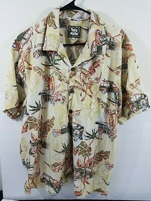 1bc1c7928 HAWAIIAN SHIRT VINTAGE Auto Graphic - Toes on The Nose - $18.80 ...