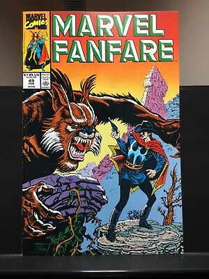 Marvel Fanfare #6 Nm 9.4 Craig Russell Spiderman Doctor Strange Collectibles