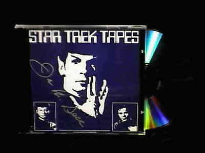 STAR TREK TAPES CD, Copy of 1975 Leonard Nimoy Photos, SIGNED, Sealed, Fast SHIP