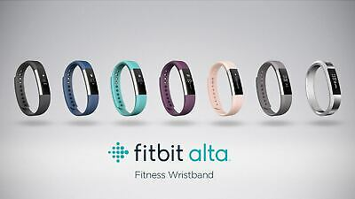 Fitbit Alta Fitness Wristband Activity Sleep Tracker *Choose Size ~ Color*