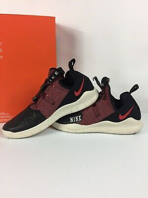 081121b944c9d NIKE FREE RUN Commuter AH6727-006 Black University Red RN CMTR 2018 ...