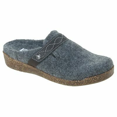 Planet Shoes Womens Amelia Comfort Slipper in Grey