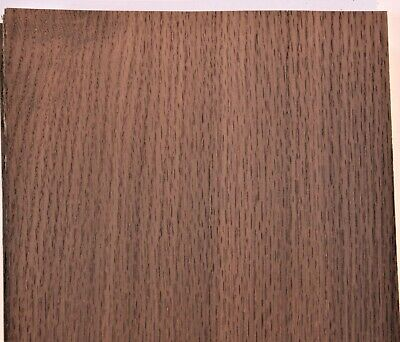 Fumed Oak Raw Wood Unbacked Veneer  25 x 8 inches          4706-06