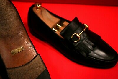 eaba3ffd716 GUCCI HORSEBIT LOAFERS Men s Size 11 M Brown Leather -  129.00 ...