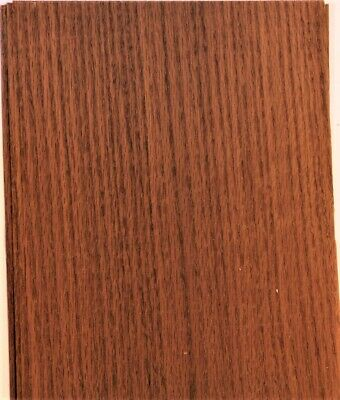 Fumed White Oak Raw Wood Unbacked Veneer  38.5 x 7 inches          4706-07