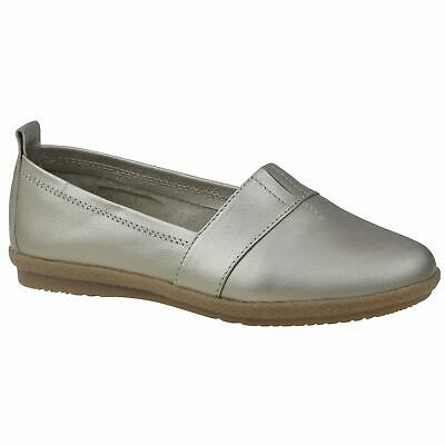 Planet Shoes Women's Comfort Ally-J in Platinum Leather Upper