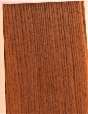 Fumed White Oak Raw Wood Unbacked Veneer  43 x 7 inches          4706-08