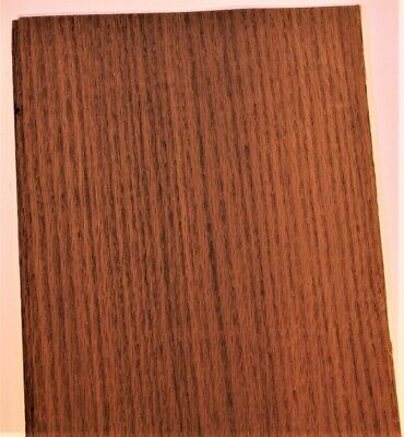 Fumed White Oak Raw Wood Unbacked Veneer  43 x 7 inches          4706-09