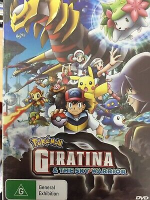 POKEMON THE MOVIE - Giratina And The Sky Warrior DVD BRAND NEW!
