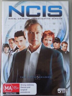 NCIS - Season 5 5 x DVD Set BRAND NEW! Complete Fifth Series Five